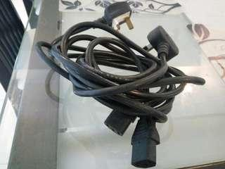Computer power cables