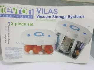 Vacuum storage systems for electronics and food