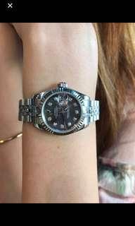 Datejust 179174 black MOP Diamond