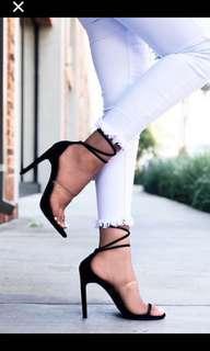 FashionNova Black Heels