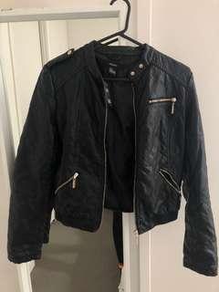 Forever 21 leather jacket