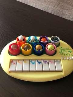 日本原裝!麵包超人玩具鋼琴