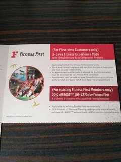 Fitness First Gift Pass