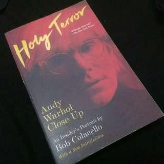 BOOK Andy Warhol. Holy terror. An insider portrait.