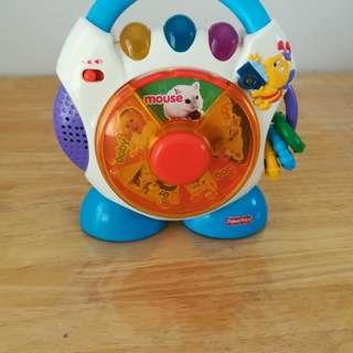 Fisher Price Toy, Baby's Muscial, Song & light Toy