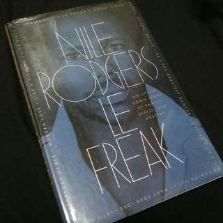 BOOK Nile Rodgers. LE FREAK. Chic man
