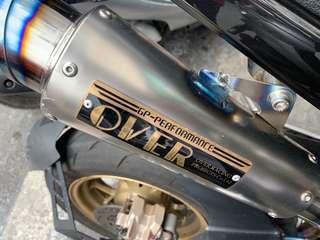 🚚 OverRacing GP全段排氣管