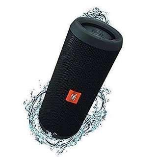 JBL Flip 3 Splashproof Portable Bluetooth Speaker Black NEW AND SEALED BOX