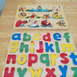 Educational Wooden Puzzels