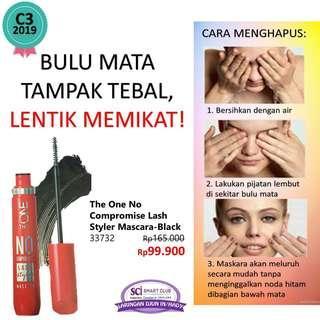 No compromise lash mascara