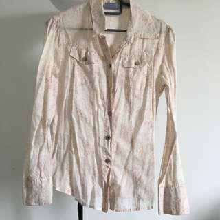 Unbranded vintage floral blouse