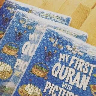 🚚 Islamic kids book my first quran