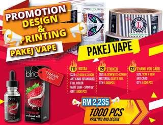Vape packaging: Design and Printing