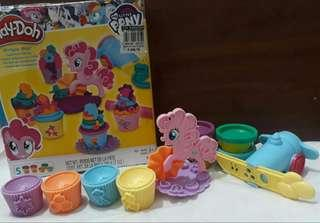 Little pony cupcake playdoh