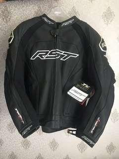 RST Tractech Evo 2 Leather Jacket - Black (Size UK 50/ EUR 60) New Original