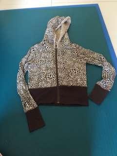 豹紋短外套