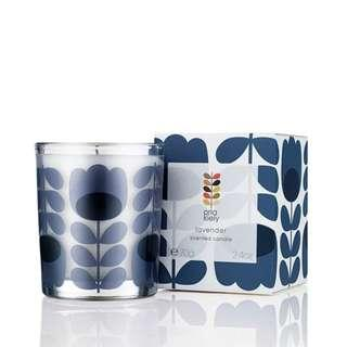Orla Kiely Lavender Scented Candle 70g 香薰蠟燭