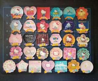 7 11 Hello Kitty 磁石貼31個
