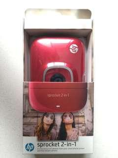 HP Sprocket 2-in-1 (Red)