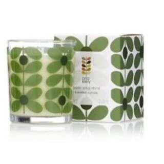 Orla Kiely Basil & Mint Scented Candle 70g 香薰蠟燭