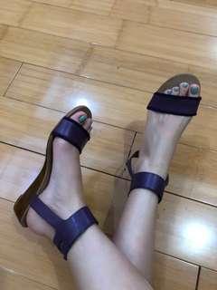 Defect! Coach purple sandal (ori/no box)