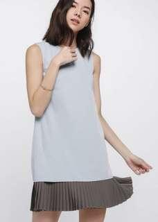 🚚 Love Bonito Delancey Pleat Underlay Dress