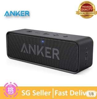 🚚 Anker Soundcore Bluetooth Speaker Portable 4.0 Stereo Speaker with 24-hour play