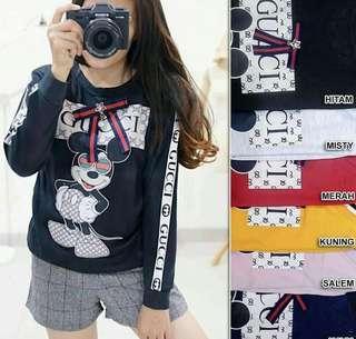 Kaos HK mewah fashion