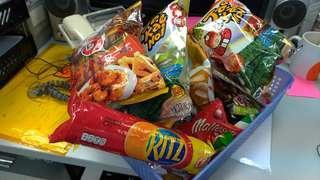 零食大集錦福袋$40