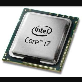 DDR3 laptop RAM 16 GB, Desktop Processor Corei7 model 920 And Corei5 Laptop Processor