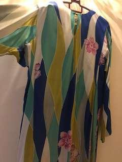 Kurung Batik Sutera Terengganu