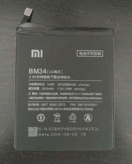 🚚 Brand new Xiaomi Note Battery BM 34