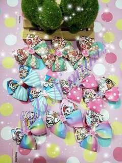 🚚 Tokidoki / unicorn / my little poby hair clips / hair pins