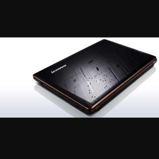 Y480 Lenovo Ideapad Almost New togather with brand new 5.1 ch speaker, extra monitor , ms office 2016
