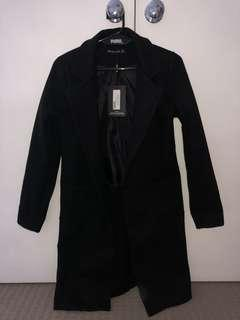 Long Black Coat XS
