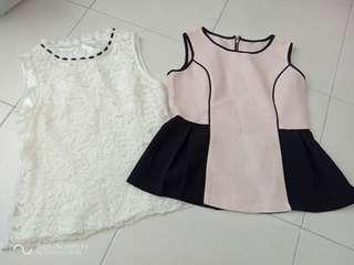 Sleeveless Top combo both rm8