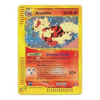 WTB Arcanine Pokemon cards 🐶🔥