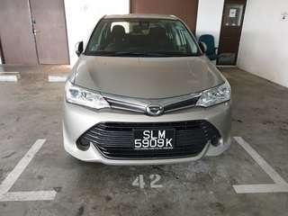 Toyota Corolla Axio 1.5A for rent