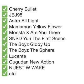 ( PO/ LFB ) SIGNED PROMO ALBUMS