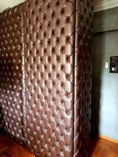 Upholstery Studded Wall Panel & Bed head Board