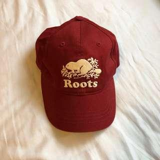 Maroon ROOTS hat
