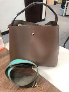 Bububee real leather bag