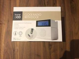 Clock Radio with Dock