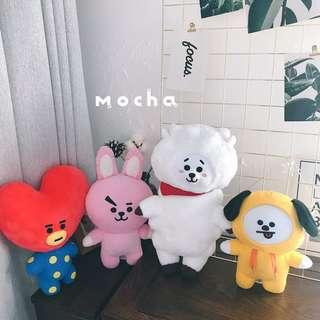 (GROUP ORDER) BT21 Plush Toy