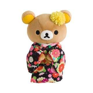 San-x Rilakkuma 鬆弛熊和服公仔 (M)