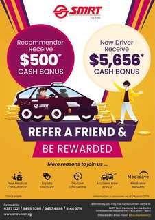 Rent our taxi and receive up to $6516