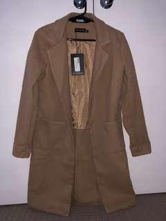 Long Camel Coat XS