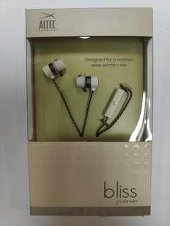 Wired Earpiece for Women - Bliss Platinum
