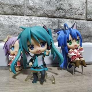 Nendoroid Lucky Star! (3 for 25)
