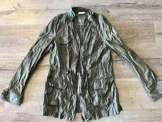 Witchery Jacket - Khaki size 10